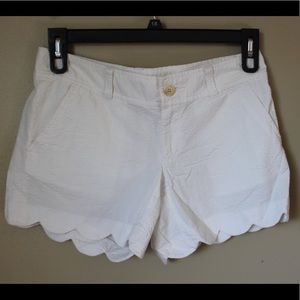 Lilly Pulitzer Buttercup Shorts White